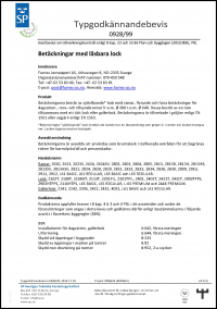 SP Sveriges Tekniska Forskningsinstitut Typegodkaennandebevis 0928 99 2015.11