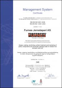 TI Sertifisering ISO 9001 2008 ISO 14001 2004 sertifikat nr2